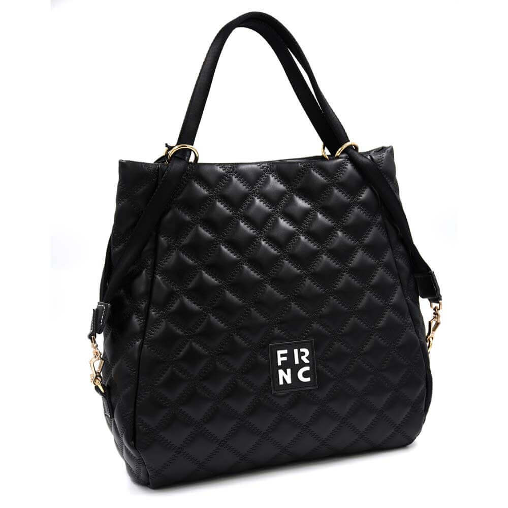 TFA - Τσάντα χειρός FRNC-1289-BLACK