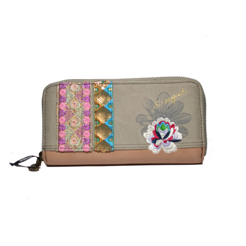 TFA - Γυναικείο Πορτοφόλι DESIGUAL Λουλούδι