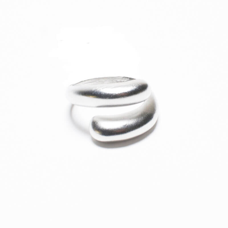 TFA - Ασημένιο Γυναικείο Δαχτυλίδι Twist Wrap