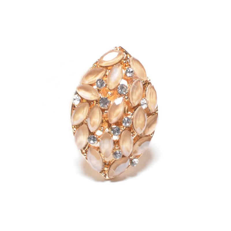 TFA - Χειροποίητο Γυναικείο Δαχτυλίδι με πέτρες