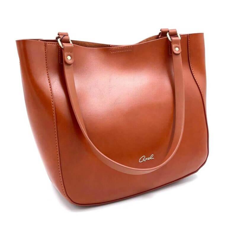 TFA - Τσάντα χειρός AXEL 1010-2504-CAMEL