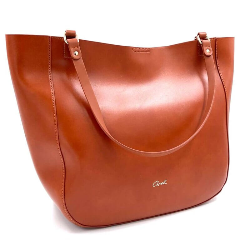 TFA - Τσάντα χειρός AXEL1010-2505-CAMEL
