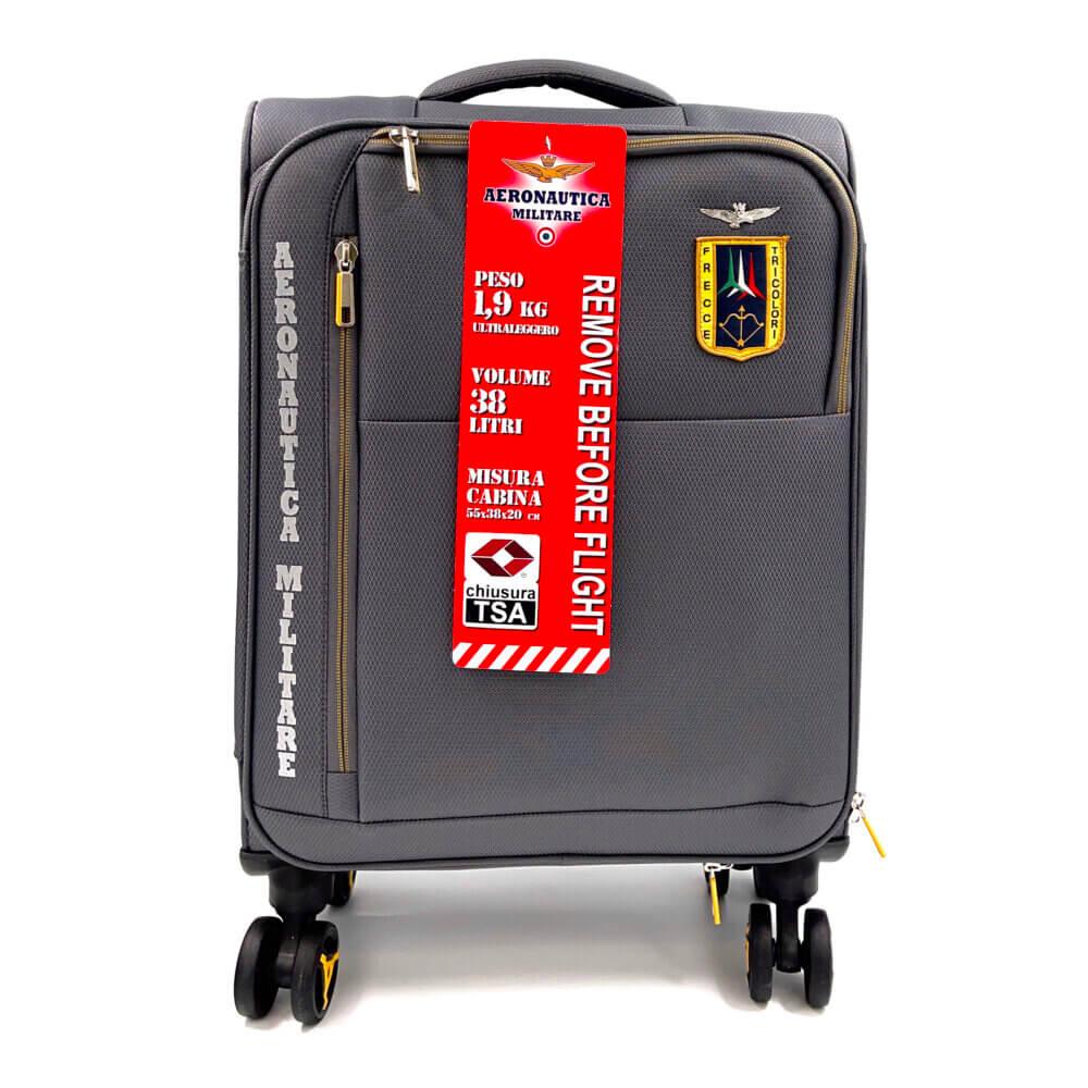 TFA - Βαλίτσα καμπίνας Γκρι by Aeronautica Militare