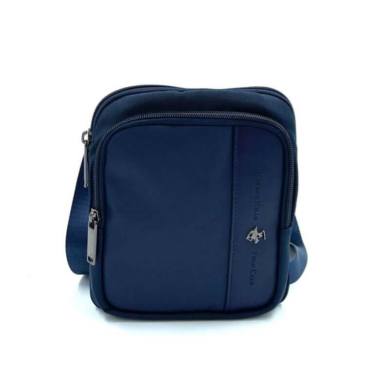 Τσάντα χιαστί POLO BH-1370-BLUE
