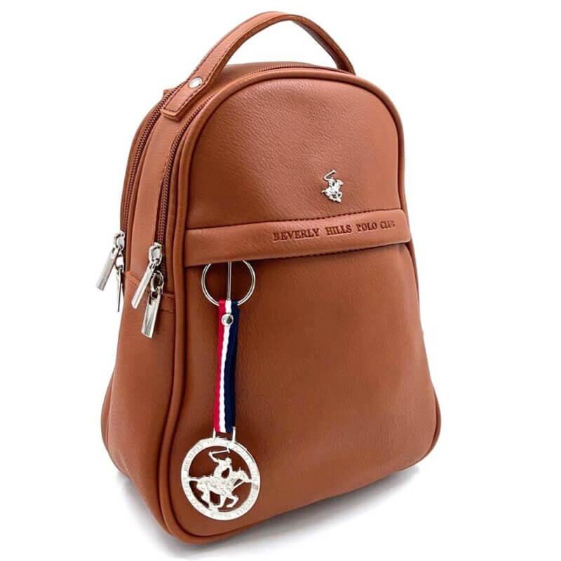TFA - Σακίδιο πλάτης (backpack) και τσάντα ώμου POLO BH-2305 - καφέ-tabac