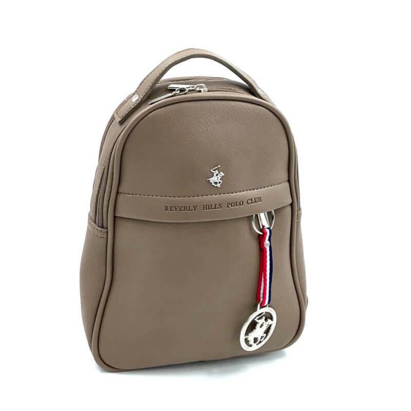 TFA - Σακίδιο πλάτης (backpack) και τσάντα ώμου POLO BH-2305 - tortora