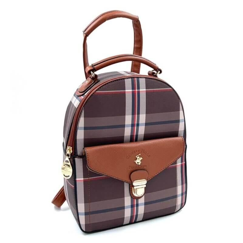 TFA - Σακίδιο πλάτης (backpack) POLO BH-2324.Γινεται-και-χιαστι