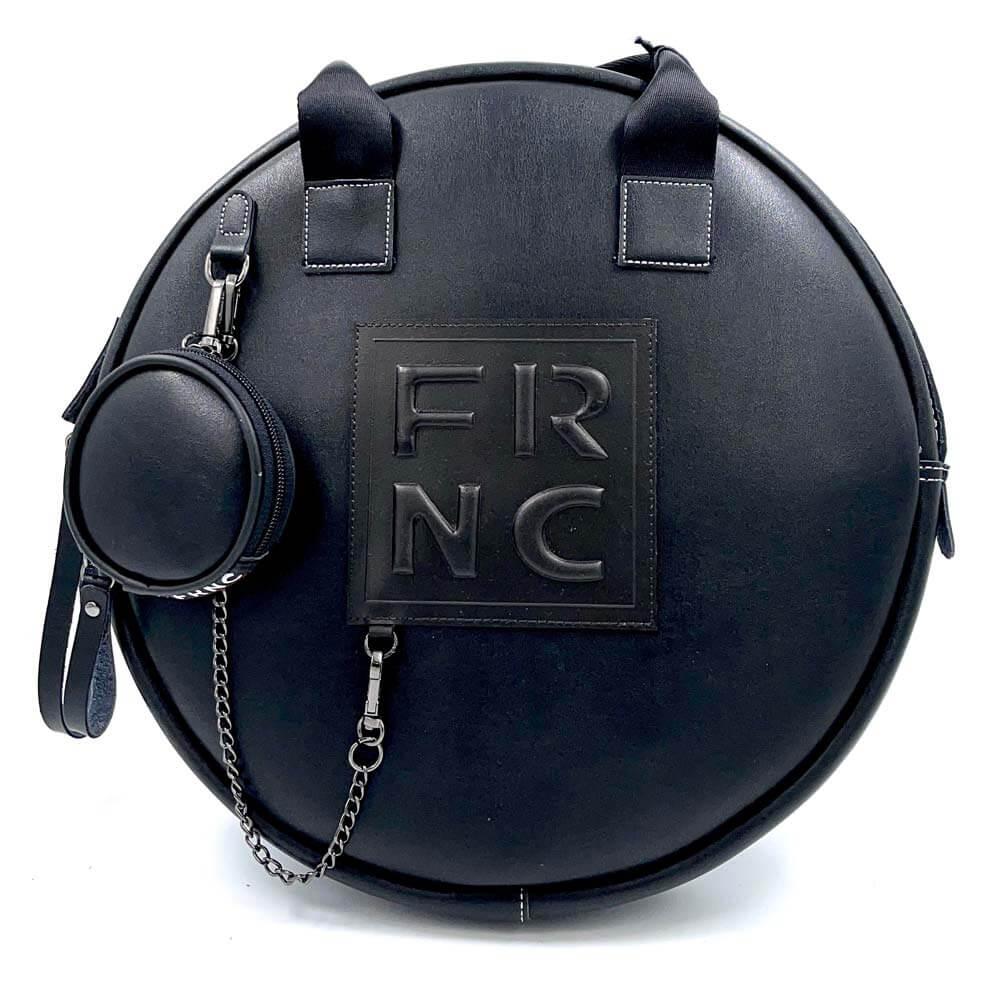 TFA - Τσάντα χειρός FRNC-1678-TOTAL BLACK