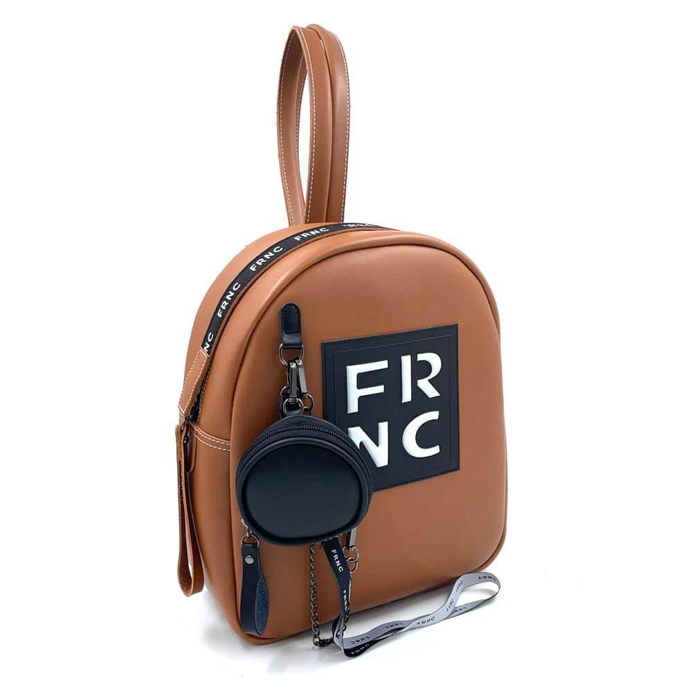 TFA - Σακίδιο πλάτης (backpack) FRNC-1674 - καφέ-tabac