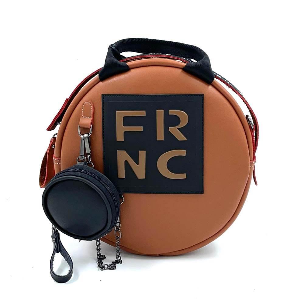 TFA - Γυναικεία τσάντα χειρός FRNC-1678-TAN BROWN