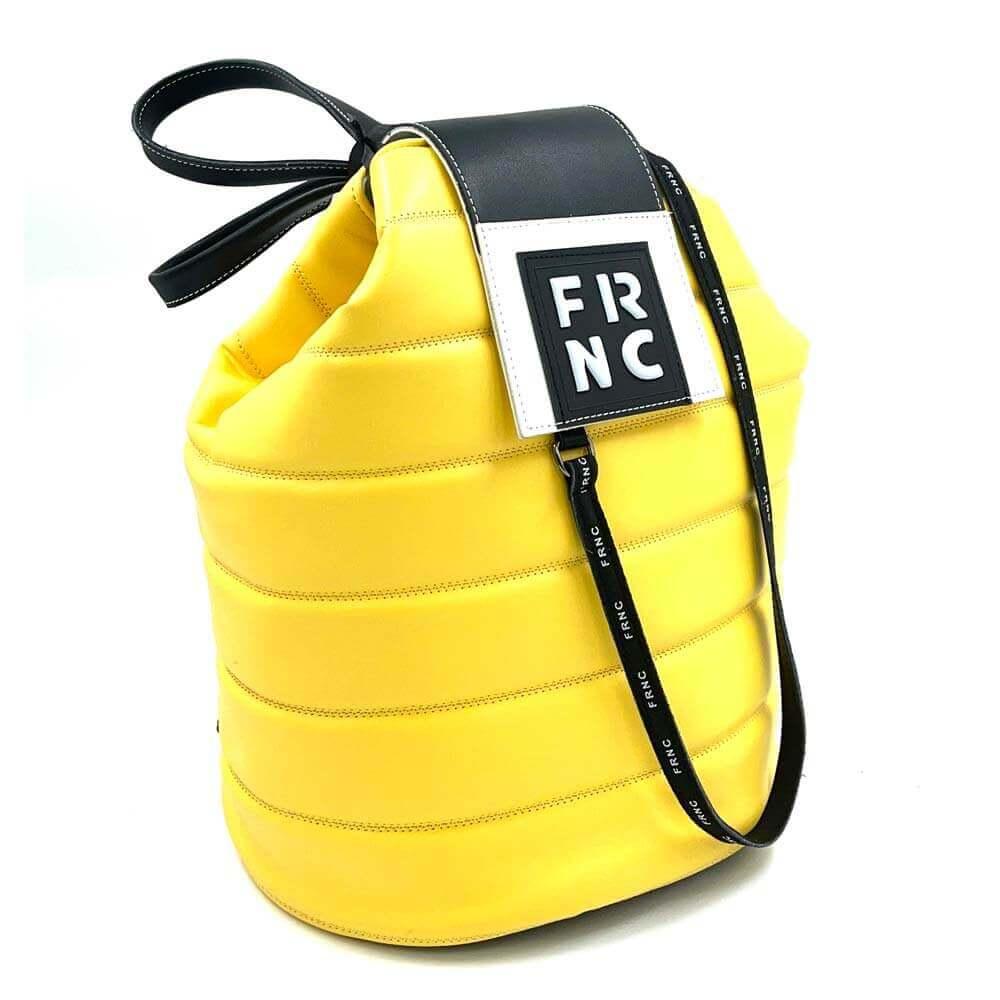 TFA - Γυναικείο Σακίδιο πλάτης (backpack) FRNC-2135 - κίτρινο