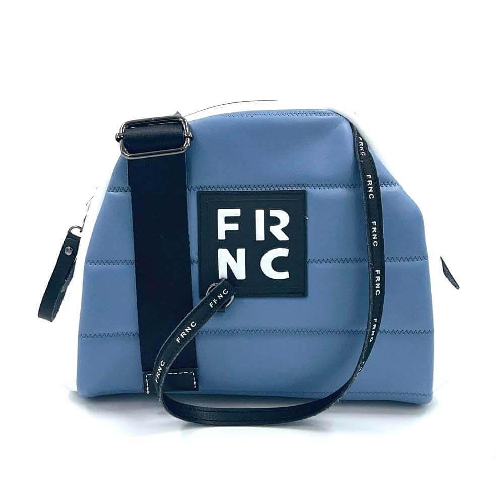 Τσάντα χιαστί FRNC-2138 - μπλε