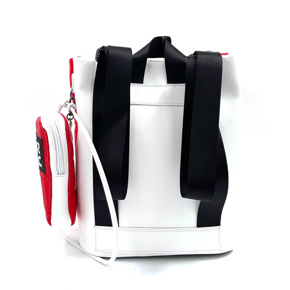 TFA - Γυναικεία Τσάντα Πλάτης FRNC 2309 Κόκκινο