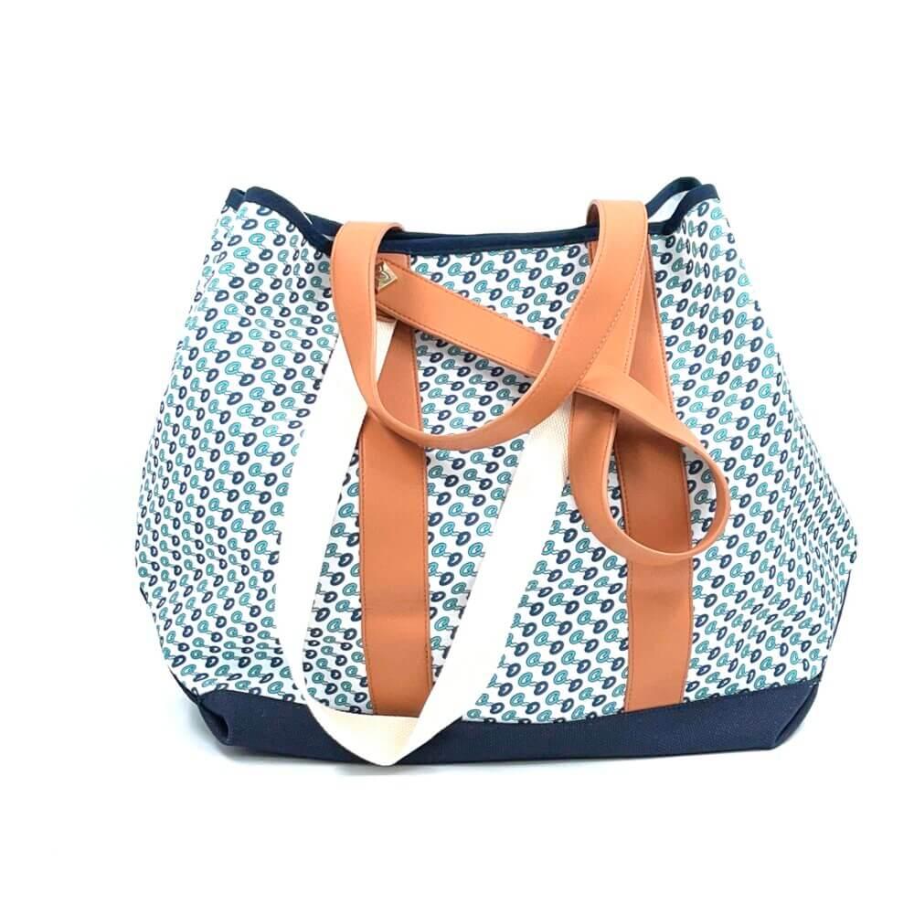 Τσάντα θαλάσσης Ocean Dream by Axel Μπλε