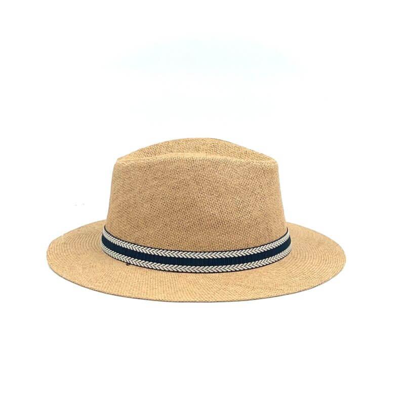 TFA - Χειροποίητο ψάθινο καπέλο Κορδέλα – Beige